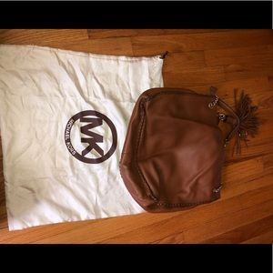 Micheal Kors Tan Leather Purse